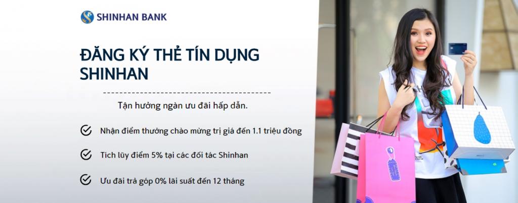 the tin dung shinhanbank