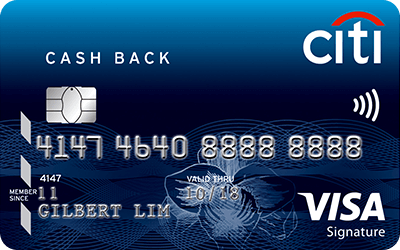 The Citibank Cashback