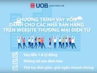 Thông Tin Cơ Bản Về Sản Phẩm Vay Tín Chấp Kinh Doanh Online Tại Ngân Hàng UOB