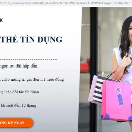 Dang Ky The Tin Dung Shinhanbank – Tiencuatoi.vn