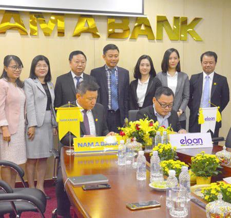Eloan Hợp Tác Với Nam á Bank – Tiencuatoi.vn