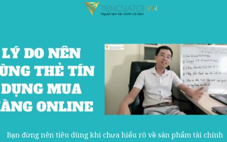 5 Lý Do Cơ Bản Thuyết Phục Bạn Nên Sử Dụng Thẻ Tín Dụng để Thanh Toán Online
