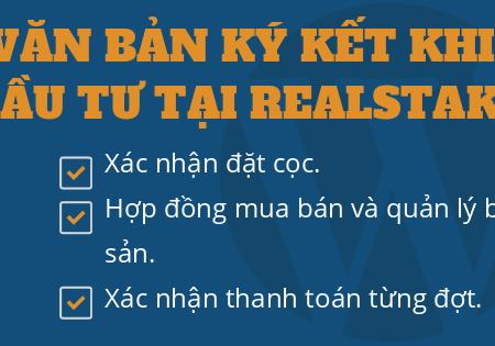 Văn Bản Ký Kết Khi đầu Tư Tại Realstake – Tiencuatoi.vn