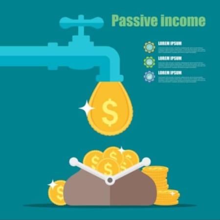 Passive Income Concept Cartoon Vector 6694629 1567504092648784392309