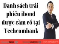 Bài Học Số 20 – Danh Sách Trái Phiếu IBond được Cầm Cố Tại Ngân Hàng Techcombank – T3.2020
