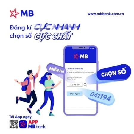 Lựa Chọn Tài Khoản Số đẹp Miễn Phí Từ Ngân Hàng Quân Đội MBbank Như Thế Nào