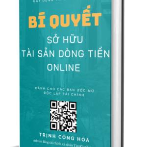 Ebook: Bí Quyết Sở Hữu Tài Sản Dòng Tiền Online