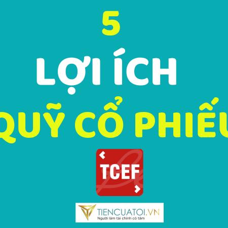 5 LỢI ÍCH ĐẦU TƯ QUỸ CỔ PHIẾU TCEF