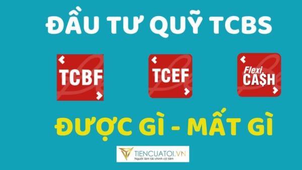 Đánh Giá Nền Tảng đầu Tư Quỹ TCEF, TCBF, TCFF Tại TCBS (P1 – Giao Dịch Cực Dễ)