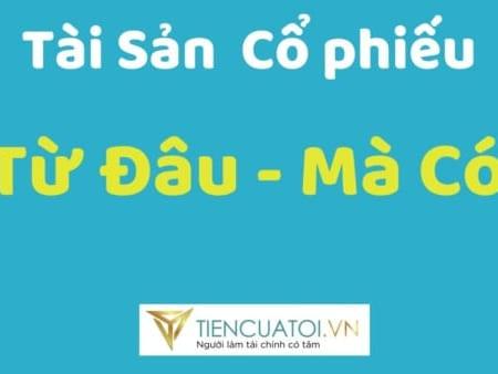 Tai San Co Phieu